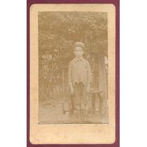 Carte De Visit Menino 1907