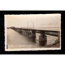 Laguna- Sc- Viaduto Da Cabeçuda ( Ponte)-fotografia Antiga