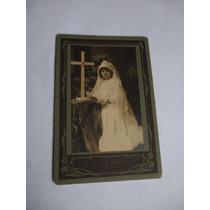 Carte De Visite Menina - Photographia O R Quaas - 1917