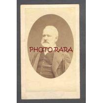 Carte De Visite - Victor Hugo - Fotógrafo Não Identificado