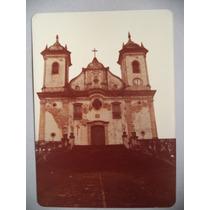São Francisco De Paula = Foto Antiga Da Igreja Em Ouro Preto