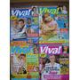 Xuxa - Lote De 4 Revistas Com Matérias De Capa