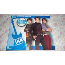 Álbum + 87 Fotocards Dos Jonas Brothers - Produto Raro