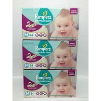 Fralda Pampers Premium Care M 252 Unidades Jumbo Pack