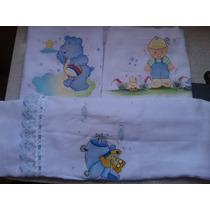 Toalhas Enchugador De Bebê Kit Com 3 Peças,70x110 Pintaddos