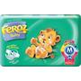 Fraldas Feroz Baby Dia E Noite C/ 24 Fraldas M