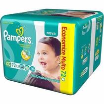 Fralda Pampers Total Confort Xg Com 72 Unidades Jumbo Pack