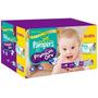 Fraldas Pampers Premium Care C/72 Tamanho M Grátis 56 Lenços