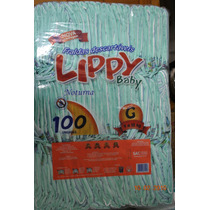 Fralda Noturna Infantil Lippy Baby G E Eg -fardo Com 400 Und