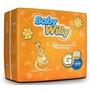 Fralda Babywilly, Tam: G, Pacotão Econômico Com 90 Unid.