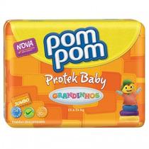 Fralda Pompom Jumbo Grand 14 Un (kit 10 Pacotes)