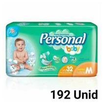 Fralda Personal Baby M 192 Unid Barato
