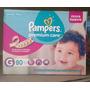 Fraldas Pampers Premium Care - Tamanho G C/ 80un. R$59,90!