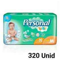 Fralda Personal Baby M 320 Unid Barato