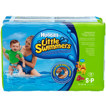 Fraldas Huggies Little Swimmers Mar E Piscina P 12 Unidades