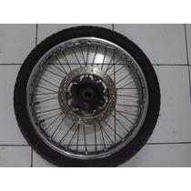 Roda Dianteira Falcon Original Honda Com Disco