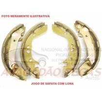 Jg Sapata Patim Lona Gm Astra 1999 Ate 2011 ( Sist Bosch )