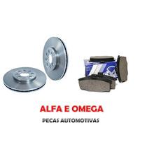 Kit Disco+pastilha Freio Dianteiro Monza Kadett Ipanema