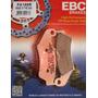 Pastilha Freio Ebc Fa185r Xre 300 /falcon/ Crf250/230 09&gt