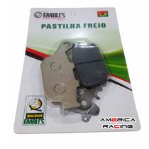 Pastilha Freio Traseiro Cb 300r 10/12 Sem Abs/yamaha Xj6