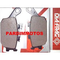Pastilhas Tras Cb 300 Xre 300 Hornet Nc Transalp C/abs
