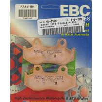 Pastilha De Freio Ebc Traseira Suzuki Burgman 400 2003-2006