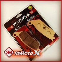 Jogo De Pastilha Dianteira & Traseira Potenza Cbr600f 2012