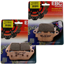 Kit Pastilhas Freio Ebc Fa196hh Fa140hh Cb500 X F Cbr500r