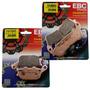 Kit Pastilhas Ebc Fa388hh Fa174hh Xre300 Cb300 Xre 300 Abs