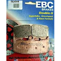 Pastilha De Freio Dianteiro Ebc Fa345hh Buell Xb9s; Xb 12