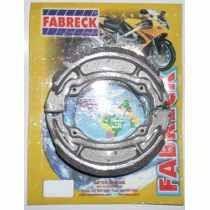 Patim (lona) De Freio Dafra Speed/kansas 150 Fabreck (par)