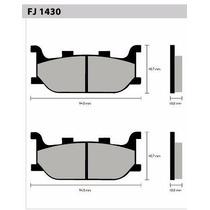 Pastilha Fischer Diant Fz6 Fazer Xj6 Mt03 Fj1430
