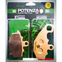 Pastilha De Freio Traseira Er-6n 06-14 Potenza Ptz192 Xt