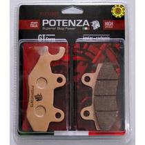 Kit Pastilha Freio Diant + Tras Potenza Fazer 250 Ptz165+152