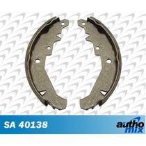 Sapata Lona Freio Fiat Palio Hlx 1.8 8v Autho Mix Sa40138