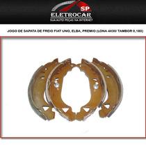 Jogo De Sapata De Freio Fiat Uno, Elba, Premio (lona 4x30/ T