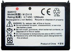 Frete Grátis: Bateria Wiza16 Htc P3401 P3400 Dopod D600 838