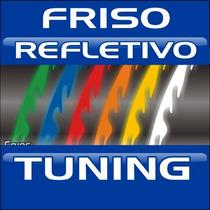Friso 10mm Refletivo Onda Tuning - Frete Grátis - Promoção!!