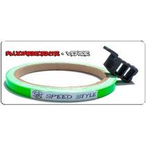 Fita Refletiva Roda Universal Speed Style Verde Fluorescente