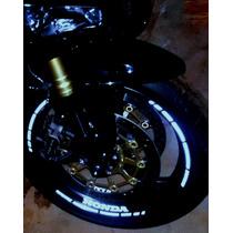 Adesivo Friso Refletivo Para Roda - Cbr 600 Rr