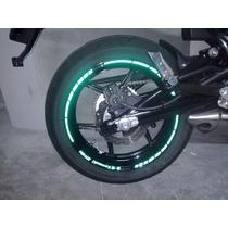 Kit Adesivo Refletivo Er-6n Kawasaki + Frete Grátis + Brinde