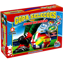 Jogo De Botão Copa Seleções Com 6 Times - Lugo
