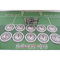Botões De Acrílico - Santos 1962 - Campeão Mundial