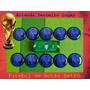 Holanda - Copa 2014 - Segundo Uniforme - Futebol De Botão