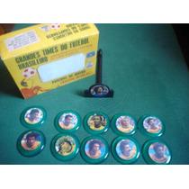 Seleção Brasileira 1977 Futebol Botão Cristal Gulliver Caixa