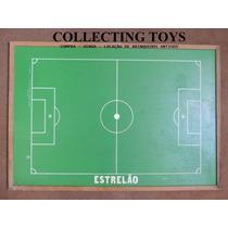 Campo Para Futebol De Botão - Estrelão - Original Anos 70