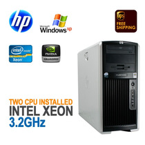 Servidor Hp Xw8400 2 Dual Core Xeon 8 Gb + Video Quadro