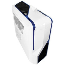 Gabinete Nzxt Phantom 410 Branco E Azul - Ca-ph410-w2 + Nfe