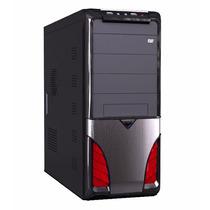 Gabinete P/ Pc Computador Maxxtro Taurus Red Com Fonte 312w