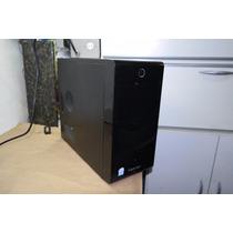 Gabinete Atx Sem Fonte Kennex Black Piano Usado Usb 2 Baias